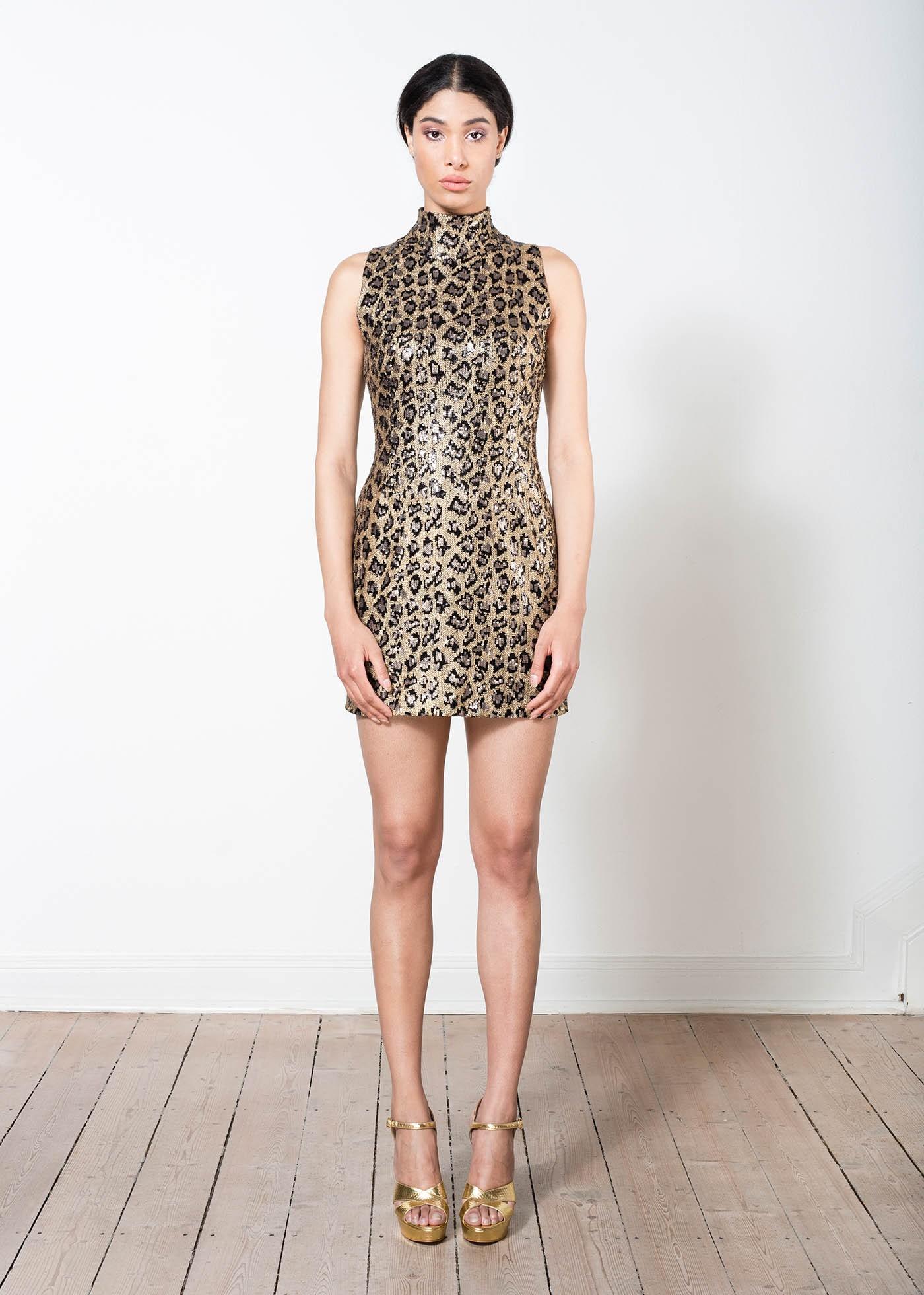 Leo Pailletten Kleid